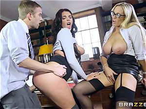 phat dicked teacher romps magnificent student Emma Leigh