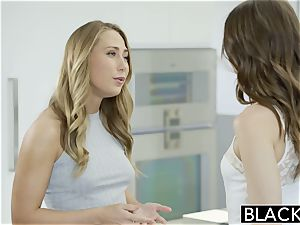 Riley Reid and Carter Cruise please ebony manhood together