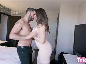 Trickery - Chanel Preston smashes a stranger at a motel