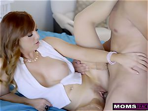 super-steamy mummy Caught daughter-in-law pounding StepSon S8:E1