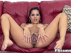 Abby Lee Brazil plumbing on web cam show