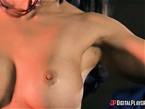 Abigail Mac takes on the monster rod of Danny D
