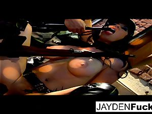 Jayden gets engaged on a lucky solo stiffy