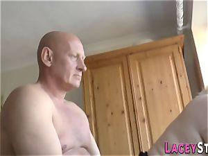 round brit granny fucked