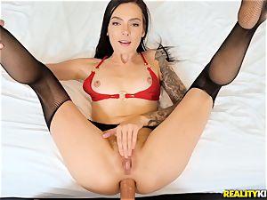 Marley Brinx smashed in her sphincter