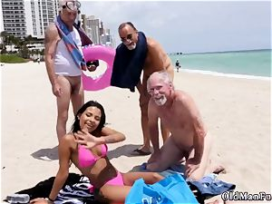 towheaded group sex older first time Staycation with a mexican hotty