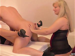 GERMAN STEP mother sloppy TINA AND aunt-in-law pound sonnie AND spunk exchange
