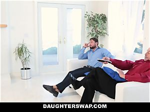 DaughterSwap - super-fucking-hot daughters-in-law Get stretched
