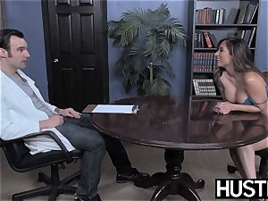 huge-titted Reena Sky earns facial after godly bone riding
