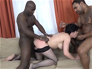 cheating training Wathcing wife have first interracial