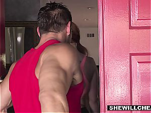 SheWillCheat - sizzling curvaceous wifey screwing personal Trainer