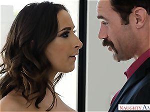 Married Ashley Adams craves schlong deep in her vag