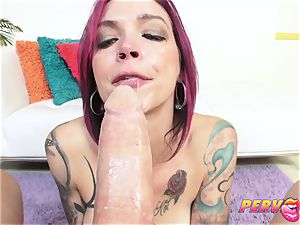PervCity inhaling cougar Anna Bell Peaks