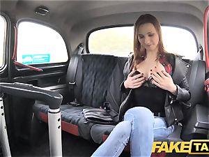fake cab slim redhead loves tough fuckfest