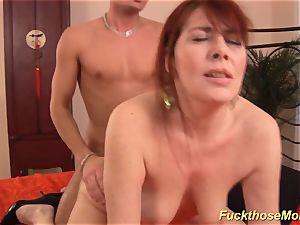 redhead stepmom need a intense stiffy