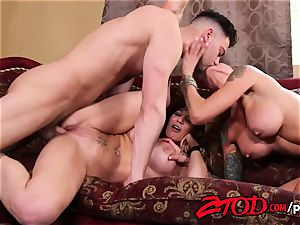 cougar threesome what a poking soiree