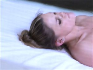 Brianna brown caught on spy web cam as she penetrates