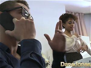 Dane Jones handsome teen dark-hued office woman