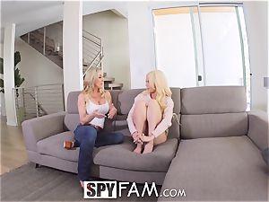 SPYFAM multiple Step moms romped in SECRET compilation