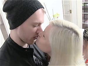AgedLovE buxomy Lacey Starr hardcore and dt