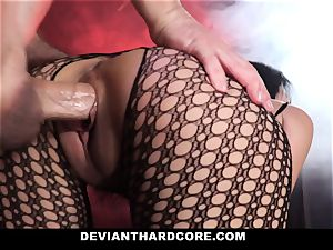 DeviantHardcore mischievous chinese Gets tight puss flogging