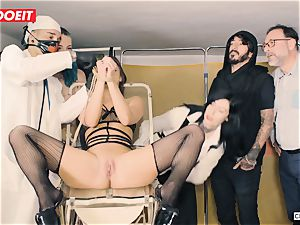 LETSDOEIT - Amirah Is abused at her first sadism & masochism party
