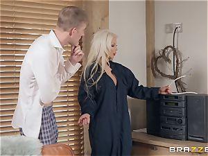 Barbie Sins taking it rigid by Danny D