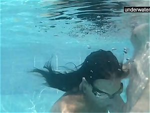 drowned underwater with a boner inwards her