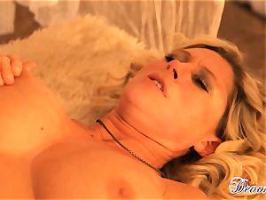 Devon Lee gets her labia stabbed by a monster boner
