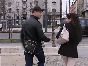 BitchesAbroad - Hungarian honey gets cunny torn up abroad