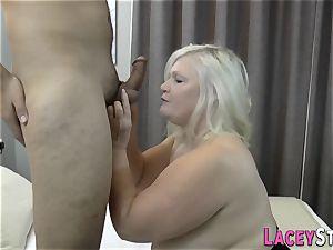 big-boobed brit granny penetrated