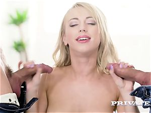 Private.com - Kira Thorn gets her holes drilled