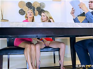 snatch joy with Alexis Fawx and Molly Mae