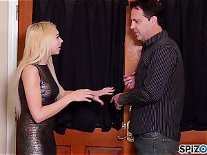 witness Mr Eric eat Zoe Clarks juicy lil' tight puss