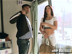 red-hot Alexa Tomas makes Money stripping off her Clothes