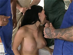 ultra-kinky paramour Aletta Ocean takes one boner at a time dipping super hot in her hatch