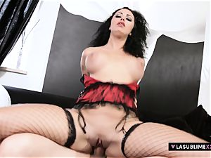 LASUBLIMEXXX Asia Morante needs large chisel in her fat ass