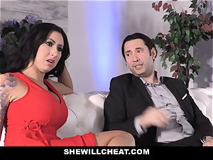 SheWillCheat - tramp wife rump fucked by mate