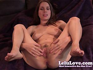 Lelu Love-Virtual slurp jism On cootchie