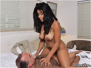 nubile pantyhose immense funbags and duo frolicking Glenn ends the job!