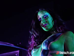 Guardians of the green vag with Cassidy Klein