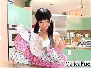 japanese hottie Marica Hase bj's and bangs