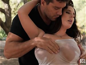 mischievous pornstar pounded in outdoors