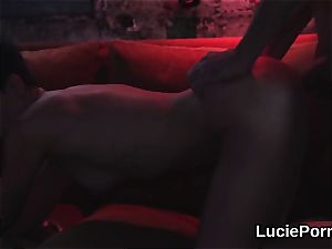 amateur girly-girl chicks get their succulent cooters licked and fucked