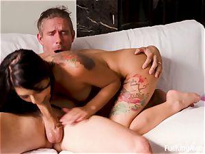 FuckingAwesome - The Neighbor's daughter Gina Valentina