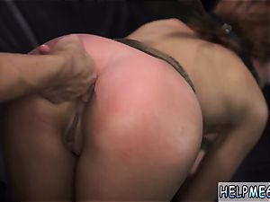 giant tit nubile harsh orgasm and goth bondage Angry boyplayfellows have no problem kicking