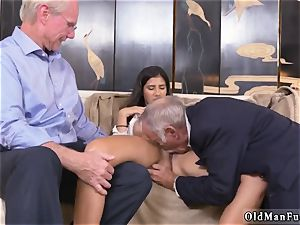 mischievous elderly milf and man gets blowage first time Going South Of The Border