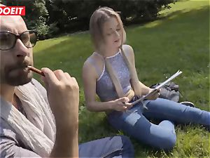 LETSDOEIT - warm light-haired nubile entices And pulverizes Stranger