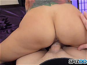 spunk jizzing super-fucking-hot dude goo guzzler Sarah Jessie
