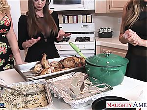 Brooklyn chase, Nicole Aniston and Summer Brielle plows
